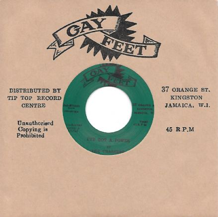 The Crashers - I've Got A Power / The Conquerers - Mr DJ (Gay Feet / Dub Store) 7""